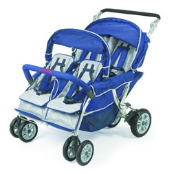 Bye-Bye Stroller 4-seater SUPERTILBUD