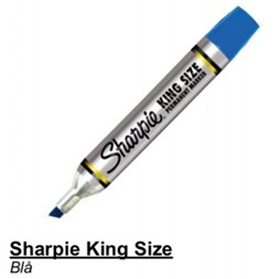 Sharpie King Size Blå