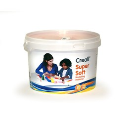 Creall Supersoft gul 1750 g