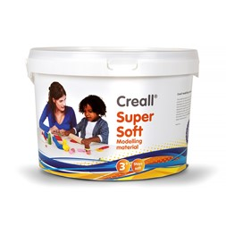 Creall supersoft ass farger 1750g