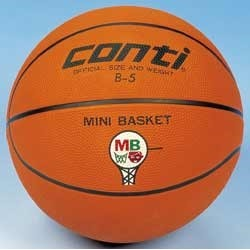 Basketball conti mini b5 Vekt 485 g Ø18cm